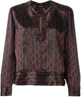 Isabel Marant peep-hole blouse - women - Silk - 36