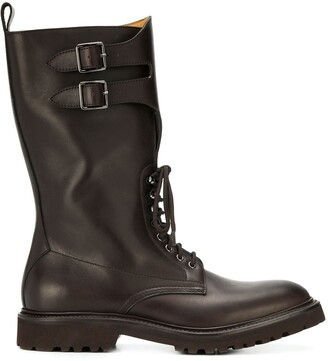 Holland & Holland Buckle Boots