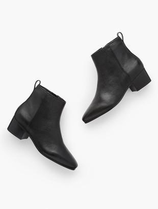 Talbots Dakota Ankle Boots - Pebbled Leather