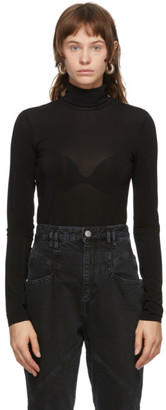 Isabel Marant Black Goyela Turtleneck