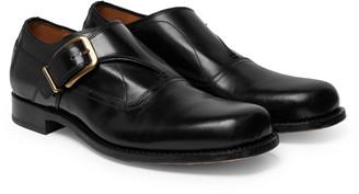 Dries Van Noten Leather Monk-Strap Derby Shoes