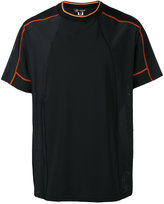 Versace side mesh panel T-shirt - men - Polyester/Spandex/Elastane - 3