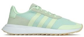 adidas Flb Runner Suede-trimmed Stretch-knit Sneakers
