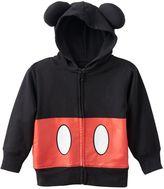 Disney Disney's Mickey Mouse Toddler Boy 3D Ears Zip-Up Hoodie