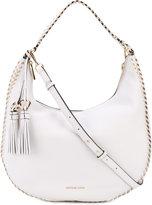 MICHAEL Michael Kors hobo shoulder bag - women - Leather/Cotton - One Size
