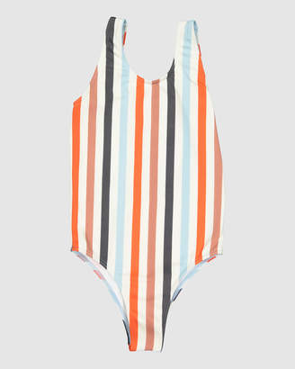 Billabong Fun Fair Stripe One Piece - Teens