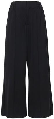Y-3 Cotton Blend Wide Leg Pants