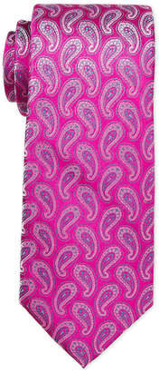 Ted Baker Pink Mini Paisley Tie