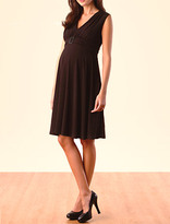 Sleeveless Empire Waist Maternity Dress