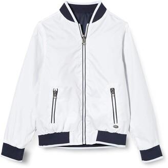 MEK Boy's Giubbino Reversibile Coat