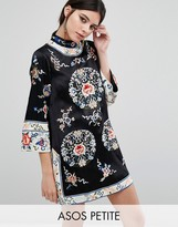 Asos Embroidered Tunic Shift