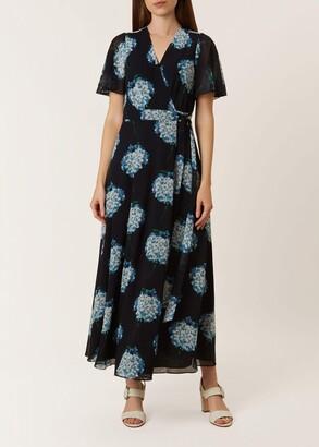 Unlimited Hydrangea Wrap Dress