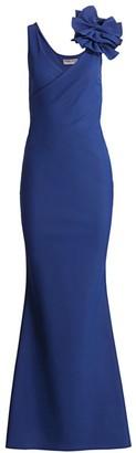Chiara Boni Dorothee Bow Strap Gown