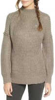 Obey Women's Barnette Chunky Knit Pullover