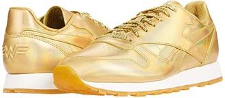 Reebok Classic Leather x Wonder Woman 1984 (Gold Metallic) Shoes