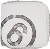 MM6 MAISON MARGIELA White Faux-leather Wallet
