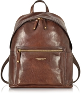 The Bridge Sfoderata Lux Uomo Marrone Leather Backpack