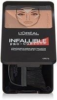 L'Oreal Cosmetics Infallible Pro Contour Palette, Deep/Profond, 0.24 Ounce
