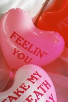 Urban Outfitters Inflatable Message Hearts Set