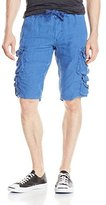 Jet Lag Men's Linen Cargo Short