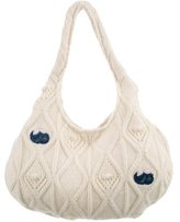 Stella McCartney Cable Knit Mini Hobo w/ Tags