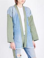 NSF Marley denim kimono jacket