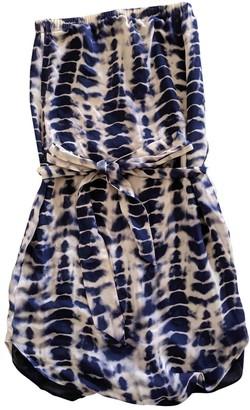 Haute Hippie Navy Silk Dresses