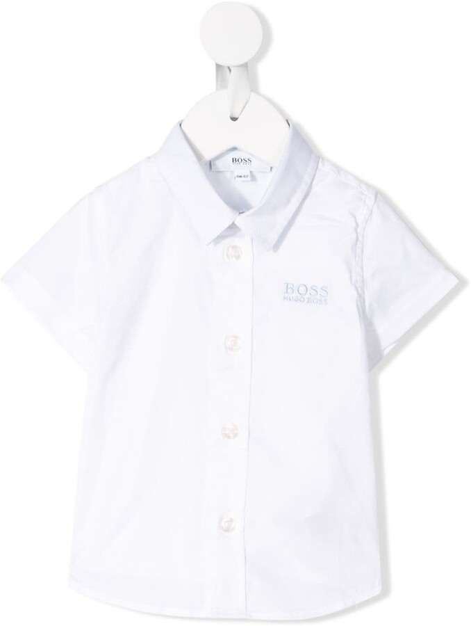 321df43cd5 Colored Shirt With White Collar And Sleeve - ShopStyle UK