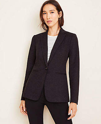 Ann Taylor The Hutton Blazer in Twill