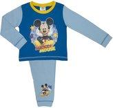 Disney Childs Mickey Mouse Mickey Boys Pyjama Set, 100% Cot