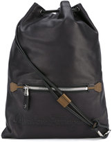 Salvatore Ferragamo drawstring backpack - men - Calf Leather - One Size