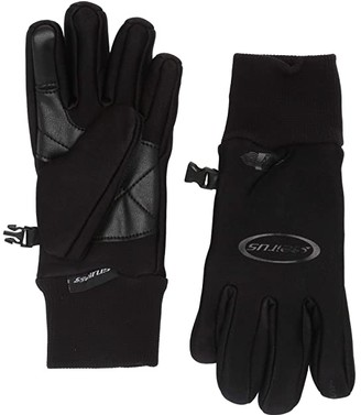 Seirus Soundtouch Heatwave All Weather Glove (Black) Extreme Cold Weather Gloves