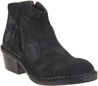 Fly London Leather Ankle Boots - Dari