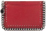 Stella McCartney Red Falabella Card Holder