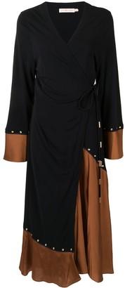 Tory Burch Colour-Block Midi Dress