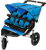 N. Out 'N' About Nipper 360 Double V4 Pushchair, Lagoon Blue