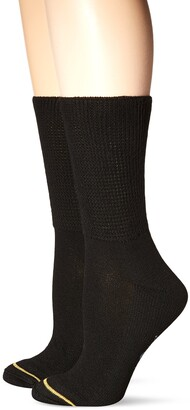 Gold Toe Women's Super Soft Crew Sock Non-Binding