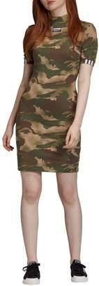 adidas Camouflage T-Shirt Dress