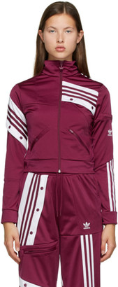 adidas Purple Danielle Cathari Edition Track Jacket