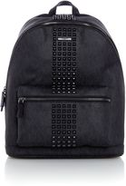 Michael Kors Jetset Mk Monogram Studded Backpack