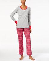 Tommy Hilfiger 3 Piece Holiday Pajama Gift Set