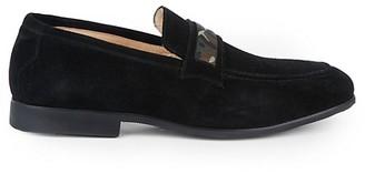 Robert Graham Gearbox Suede Loafers