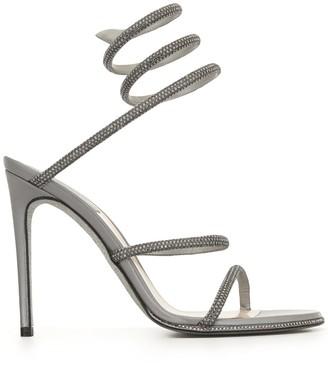 Rene Caovilla Cleo twist sling back sandal