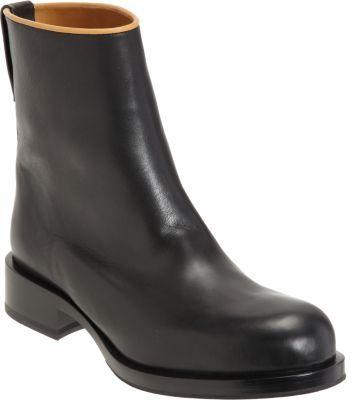 Jil Sander Contrast Topline Ankle Boot