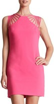 Dress the Population Women's 'Cora' Strappy Shoulder Sheath Dress