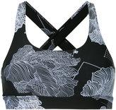 The Upside flower print sports bra