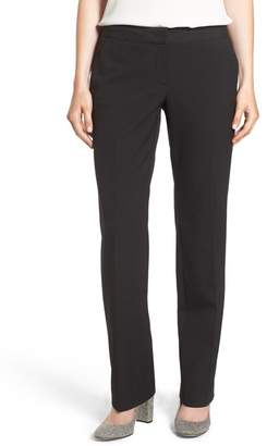 Halogen 'Taylor - Ela' Straight Leg Suit Pants (Regular & Petite)