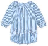 Ralph Lauren Stripe Top & Bloomer Set