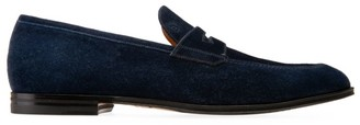 Bally Westminster Webb Suede Penny Loafers
