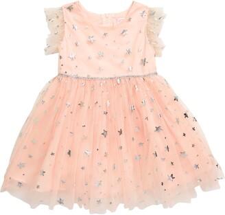 Popatu Foil Star Tulle Dress